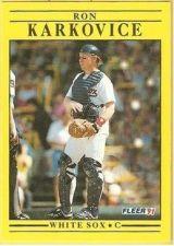 Buy 1991 Fleer #125 Ron Karkovice