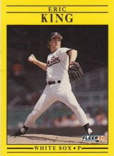 Buy 1991 Fleer #126 Eric King