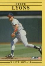 Buy 1991 Fleer #127 Steve Lyons
