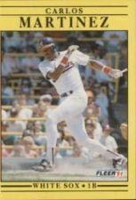 Buy 1991 Fleer #128 Carlos Martinez
