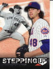 Buy 2015 Topps Stepping Up #SU-20 - Jacob deGrom - Mets