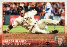 Buy 2015 Topps #611 - Gregor Blanco - Giants