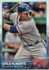 Buy 2015 Topps #681 - Zoilo Almonte - Braves