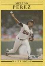 Buy 1991 Fleer #133 Melido Perez