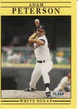 Buy 1991 Fleer #134 Adam Peterson