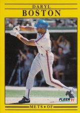 Buy 1991 Fleer #140 Daryl Boston