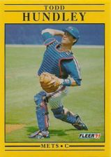 Buy 1991 Fleer #150 Todd Hundley