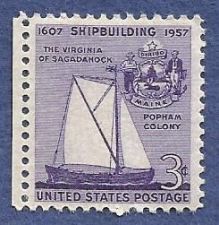 Buy US 3 Cent 1957 Stamp Shipbuilding MNH Scott # 1095