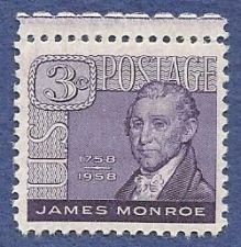 Buy US 3 Cent 1958 Stamp James Monroe MNH SC# 1105