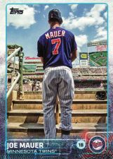 Buy 2015 Topps #700 - Joe Mauer - Twins