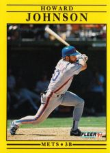 Buy 1991 Fleer #152 Howard Johnson