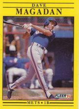 Buy 1991 Fleer #153 Dave Magadan