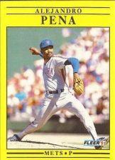 Buy 1991 Fleer #158 Alejandro Pena