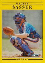 Buy 1991 Fleer #160 Mackey Sasser