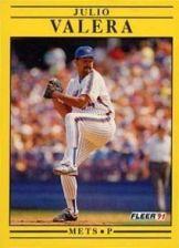 Buy 1991 Fleer #164 Julio Valera