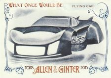 Buy 2015 Allen & Ginter What Once Would Be #1 - Flying Car
