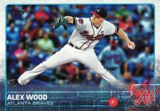 Buy 2015 Topps #642 - Alex Wood - Braves