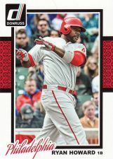 Buy 2014 Donruss #323 - Ryan Howard - Phillies