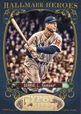 Buy 2012 Gypsy Queen Hallmark Heroes #HH-LG - Lou Gehrig - Yankees