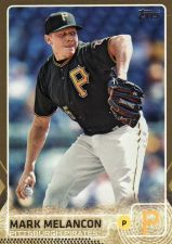 Buy 2015 Topps Gold #124 - Mark Melancon - Pirates