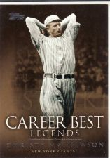 Buy 2009 Topps Legends Of The Game Career Best #CZM - Christy Mathewson - Giants