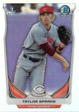 Buy 2014 Bowman Chrome Draft Refractors #CDP55 - Taylor Sparks - Reds