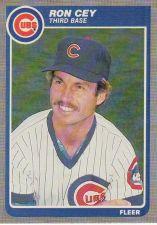 Buy 1985 Fleer #52 - Ron Cey - Cubs