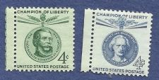 Buy US 4 Cent 1958-1960 Stamps Champion of Liberty - 2 for price of 1! Paderwski & Kossut