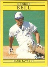 Buy 1991 Fleer #169 George Bell