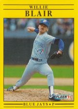 Buy 1991 Fleer #170 Willie Blair