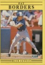 Buy 1991 Fleer #171 Pat Borders