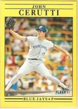 Buy 1991 Fleer #172 John Cerutti