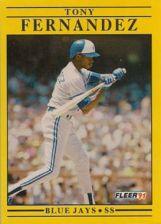 Buy 1991 Fleer #174 Tony Fernandez