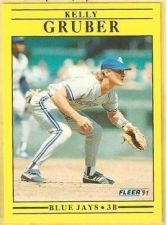 Buy 1991 Fleer #175 Kelly Gruber
