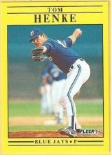 Buy 1991 Fleer #176 Tom Henke