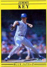 Buy 1991 Fleer #178 Jimmy Key