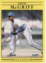 Buy 1991 Fleer #180 Fred McGriff