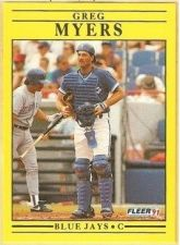 Buy 1991 Fleer #182 Greg Myers