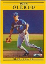 Buy 1991 Fleer #183 John Olerud