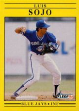Buy 1991 Fleer #184 Luis Sojo