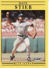 Buy 1991 Fleer #185 Dave Stieb