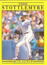 Buy 1991 Fleer #186 Todd Stottlemyre