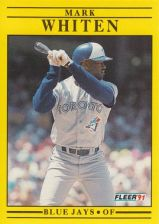 Buy 1991 Fleer #189 Mark Whiten
