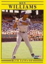 Buy 1991 Fleer #190 Ken Williams