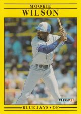 Buy 1991 Fleer #192 Mookie Wilson
