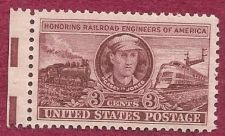 Buy US 3 Cent 1950 Stamp Railroad Engineers of America Scott 993 MNH