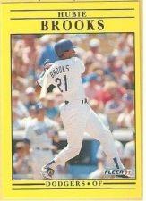 Buy 1991 Fleer #195 Hubie Brooks