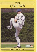 Buy 1991 Fleer #197 Tim Crews