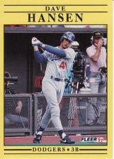 Buy 1991 Fleer #203 Dave Hansen