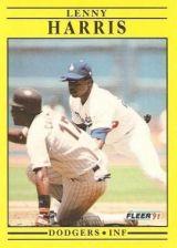 Buy 1991 Fleer #204 Lenny Harris